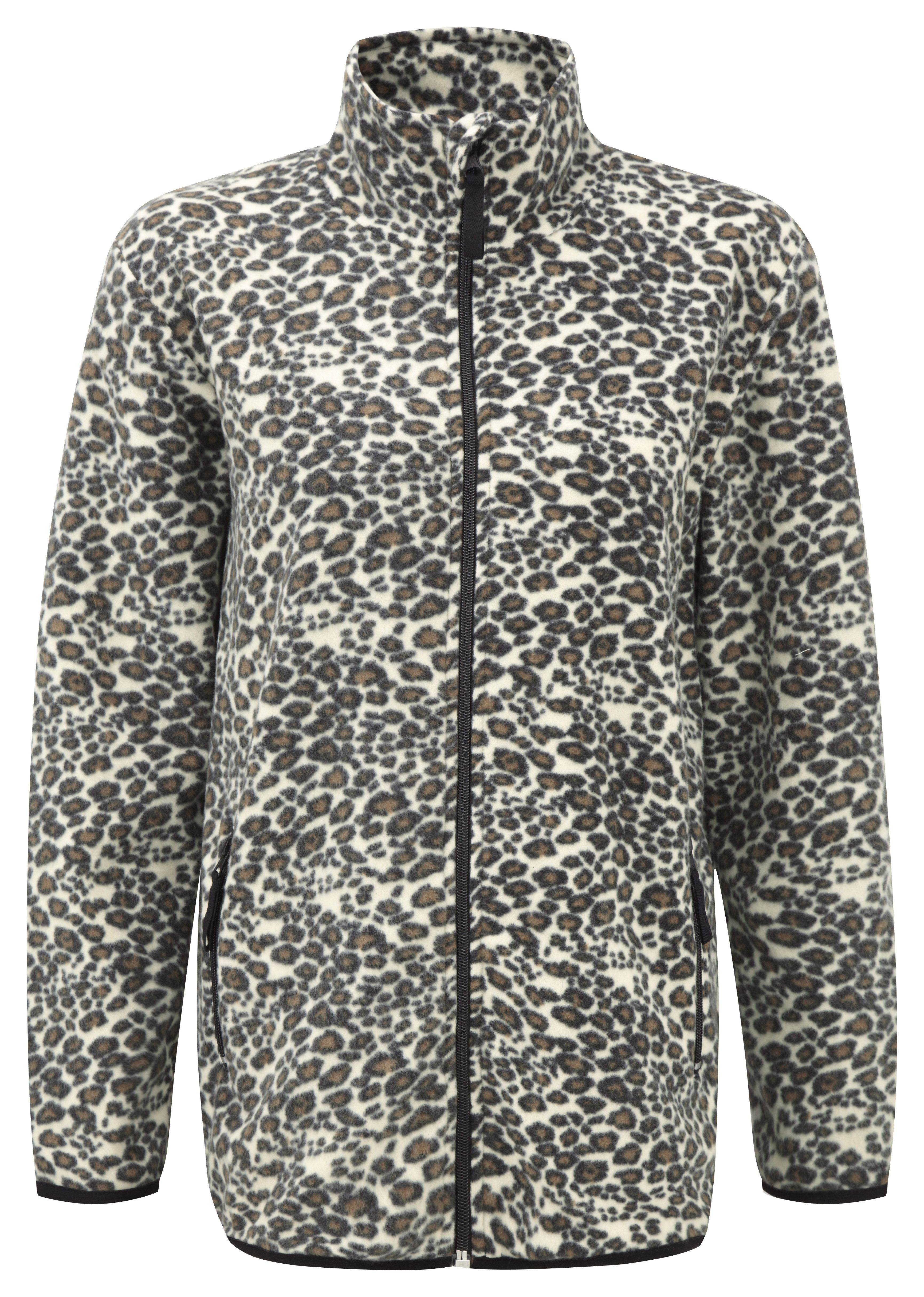 Damart Leopard Print Fleece Product Code W756 Www Damart Co Uk With Images Jumpers For Women Cable Knit Jumper Fleece