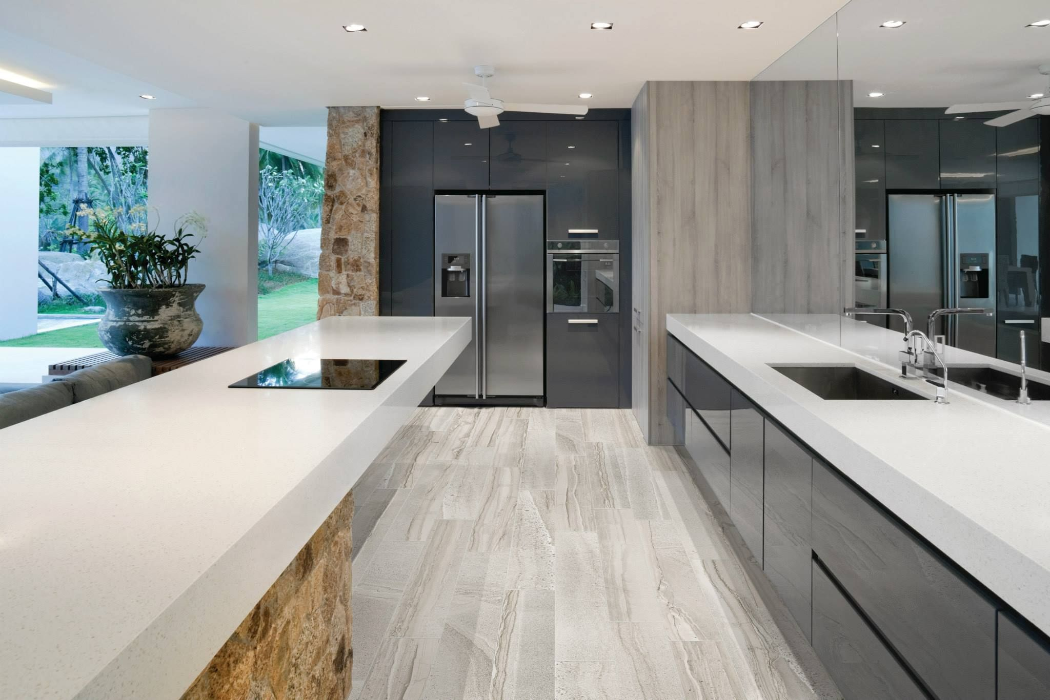 amelia mist || hd porcelain #tiles #kitchen #tileciti #ameliamist