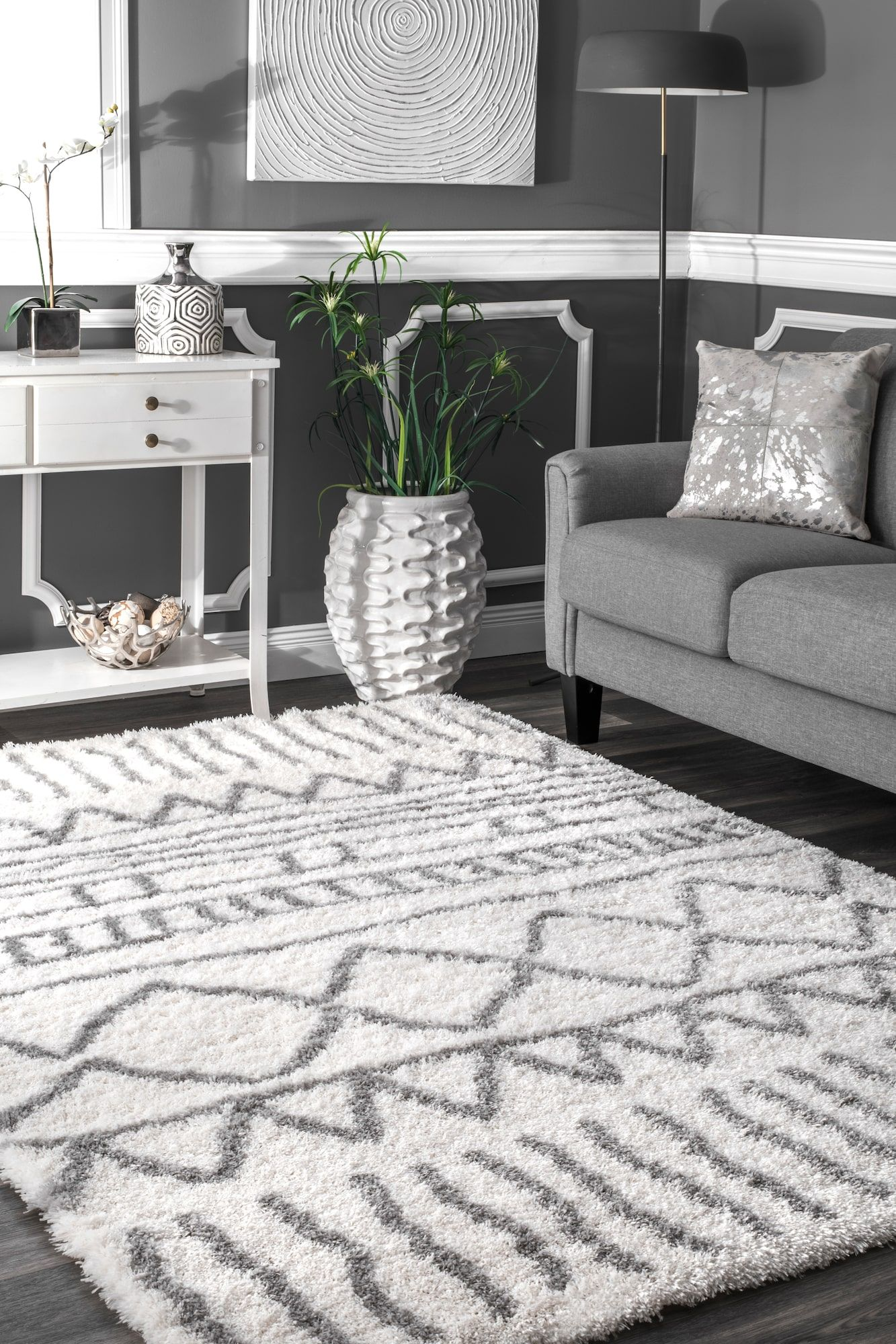 rugs usa cloudy shag geometric drawings rug home improvement rh pinterest ca