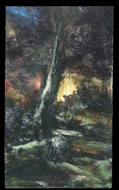 BARROT RÉSURRECTION RATÉE. 2011. HUILE SUR TOILE. 162 X 97 CM | Peinture fraîche, Les arts