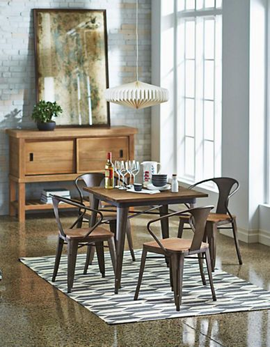 home dining titus 5pc dining set hudson s bay for the home rh pinterest com