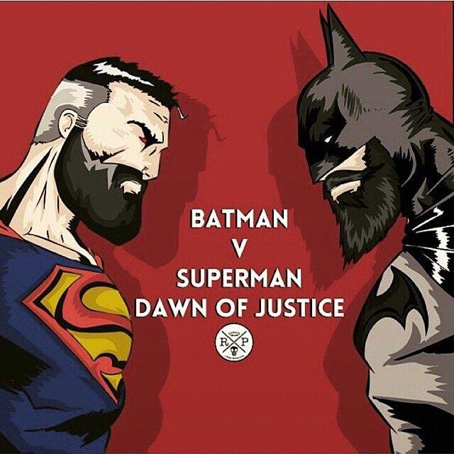 #Batbeard Vs #Superbeard #beard