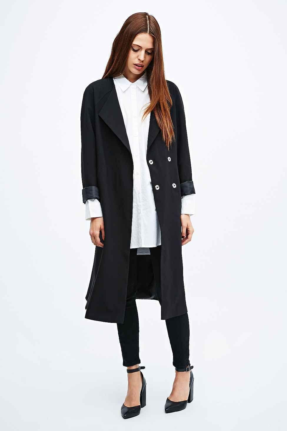 Long Black Blazer Jacket