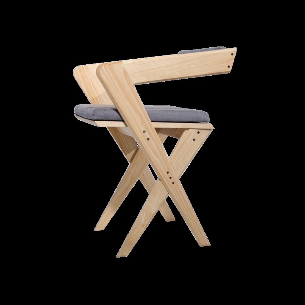 Norn silla de madera varios colores pinteres for Sillas madera colores
