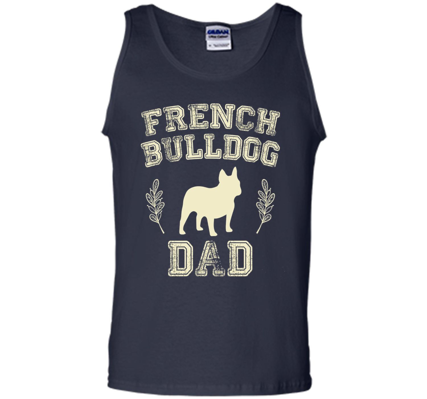 French Bulldog Dad Shirt Dog Lover Father's Day Gift for