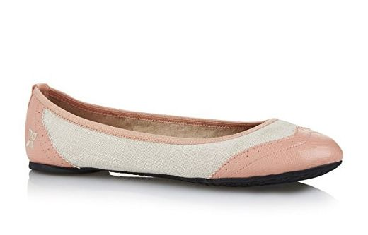 Vintage Butterfly Twists Brogue Budapester Audrey Ballerinas