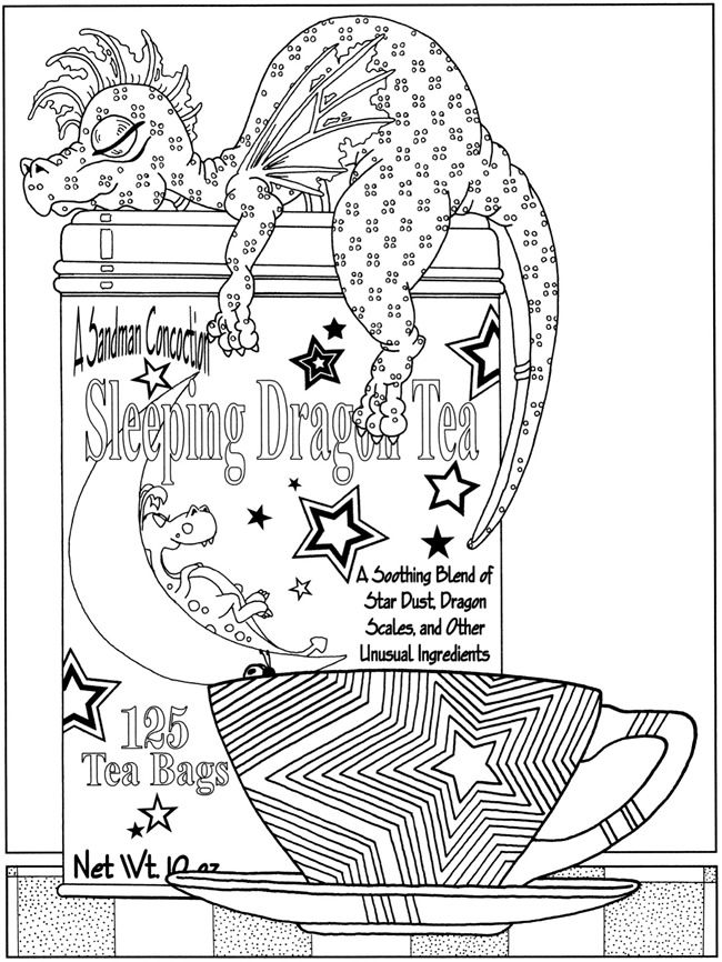 Welcome To Dover Publications Fanciful Fairies And Dazzling Dragons