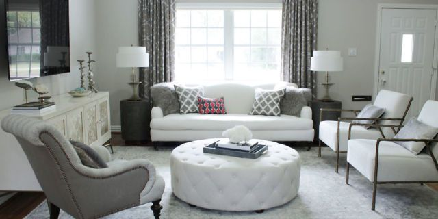 Before After An Elegant Budget Friendly Living Room Makeover Budget Friendly Living Room Living Room On A Budget Elegant Living Room Elegant living rooms on budget