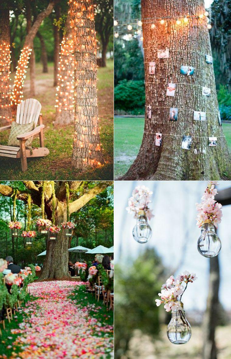 Las Bodas Al Aire Libre En Parques Y Jardines Convierten Tu Boda En Un Lugar Unico Y Romantico I Decorar Boda Boda En Jardin Ceremonias De Boda Al Aire Libre