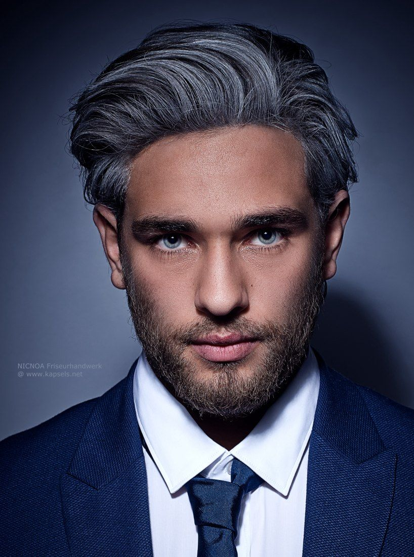 Men's haircut style pictures salt and pepper beard styles  newhairstylesformen