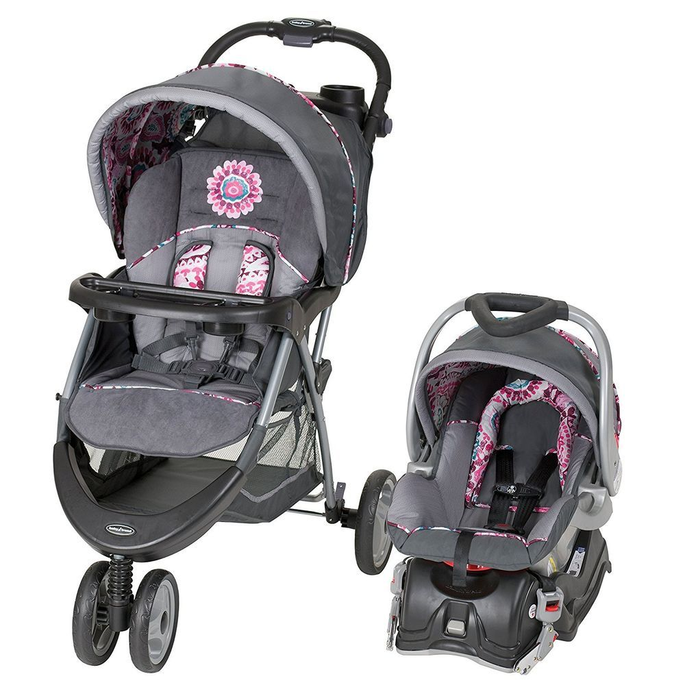 Details about Baby Car Seat And Stroller Set Infant Kid 5