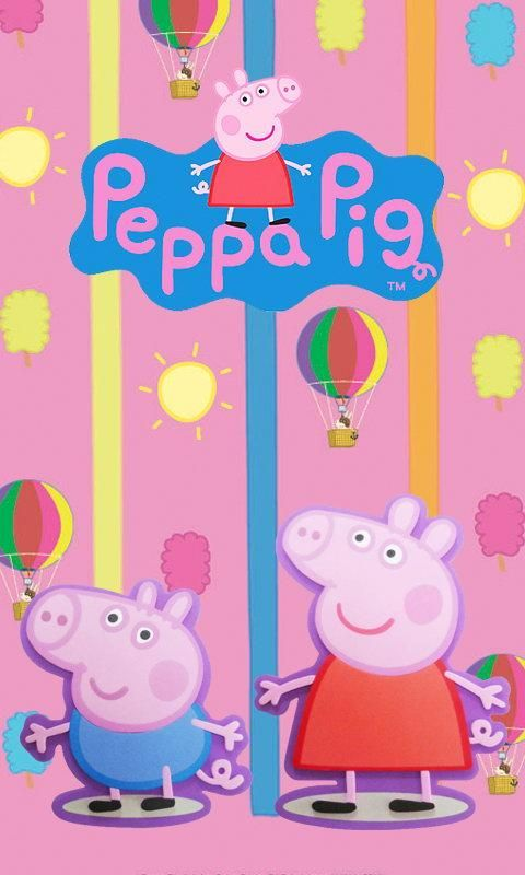 Decofun, Peppa Pig Self Adhesive Border, 15.9 cm: Amazon.co.uk: Kitchen &  Home