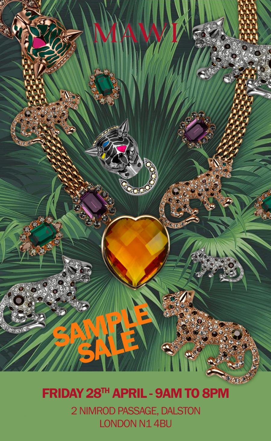 Mawi Sample Sale London 28 04 Sample Sale Sale Sample