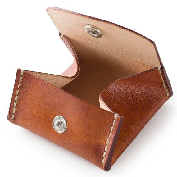 Hommes porte monnaie femmes pi ce porte monnaie par clworkshop cuir pinterest porte - Porte monnaie trieur pieces ...