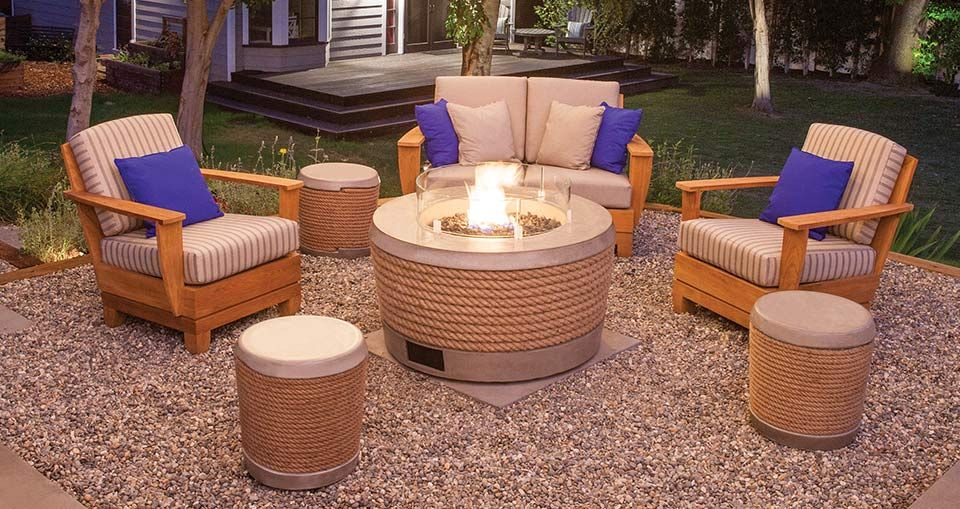 fire pits gettin cozy with fire pits best outdoor furniture rh pinterest com