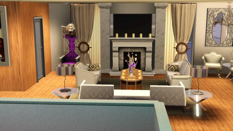Sims 3 Wohnzimmer Modern