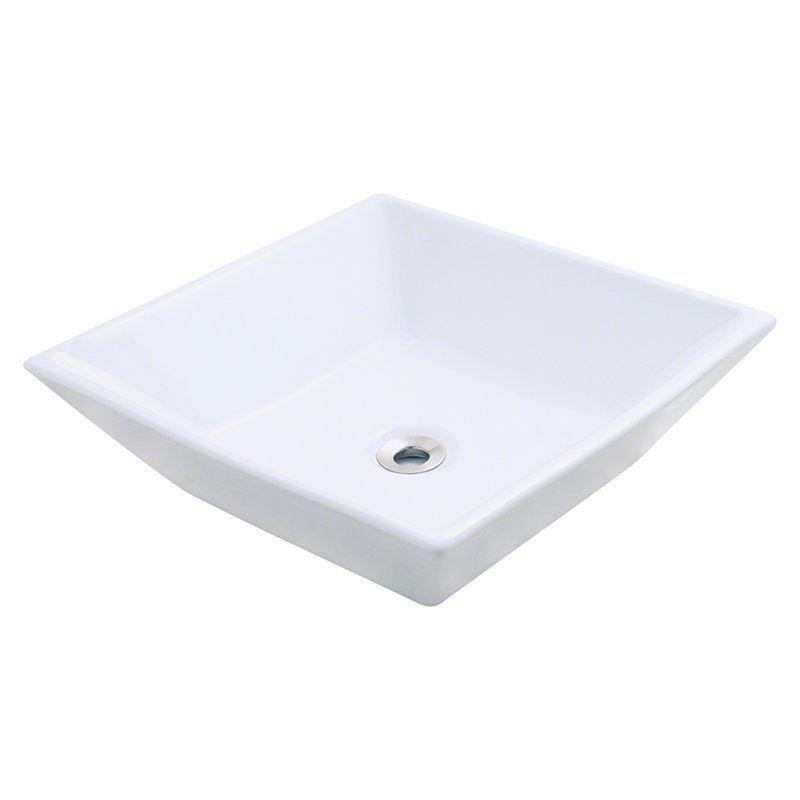 Polaris Sinks p071 Porcelain Vessel Sink - P071V