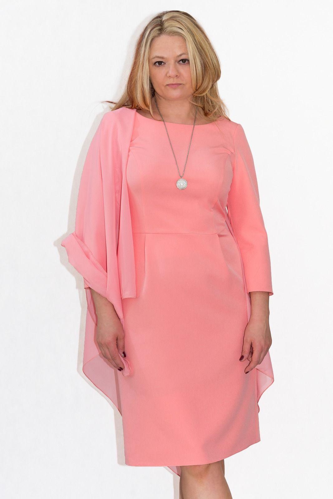 3f3538df8f9c Elegancka sukienka XXL AVA 40-60 duże rozmiary PLUS SIZE KOLORY ...