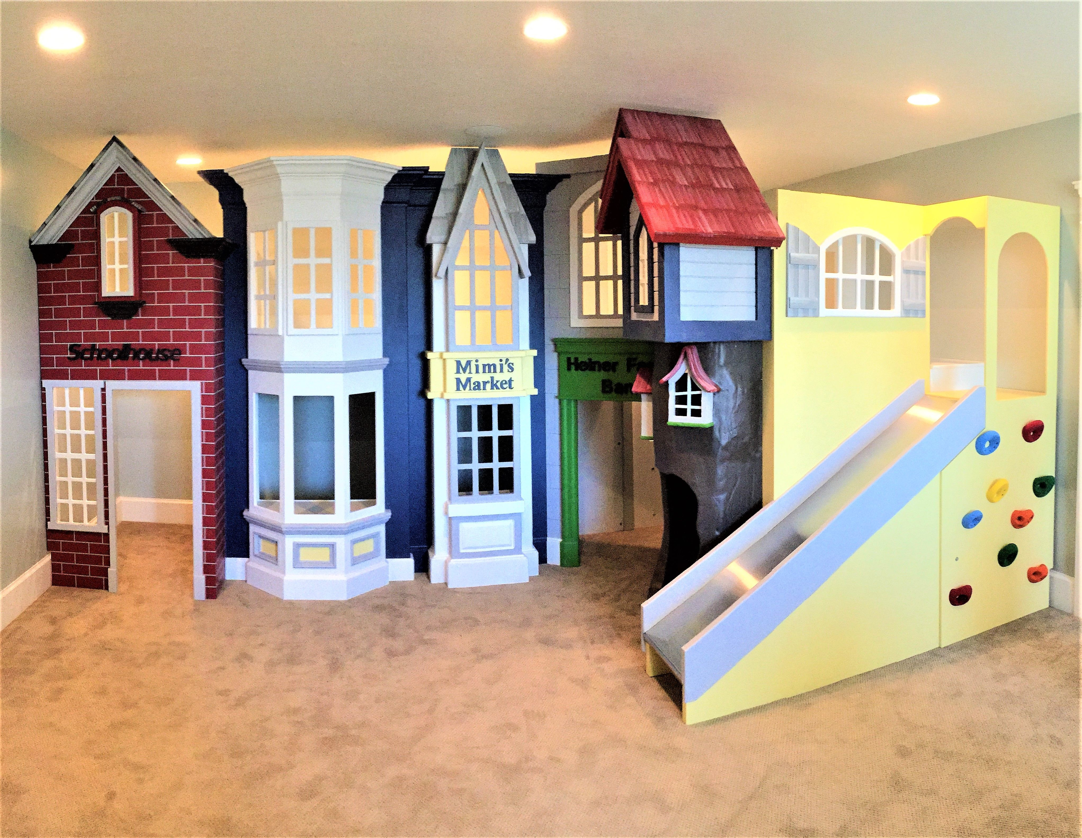 classic storefront playhouse new designs play houses kids rh pinterest com