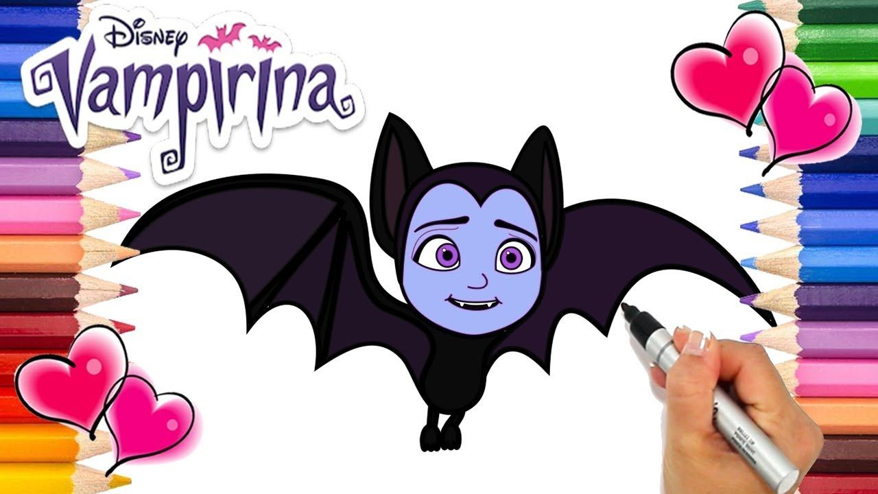 Easy Barbie Coloring Pages : Vampirina going batty coloring page vampirina coloring book