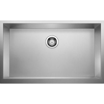 Blanco Precision Undermount Stainless Steel 32 In X 19 5 In