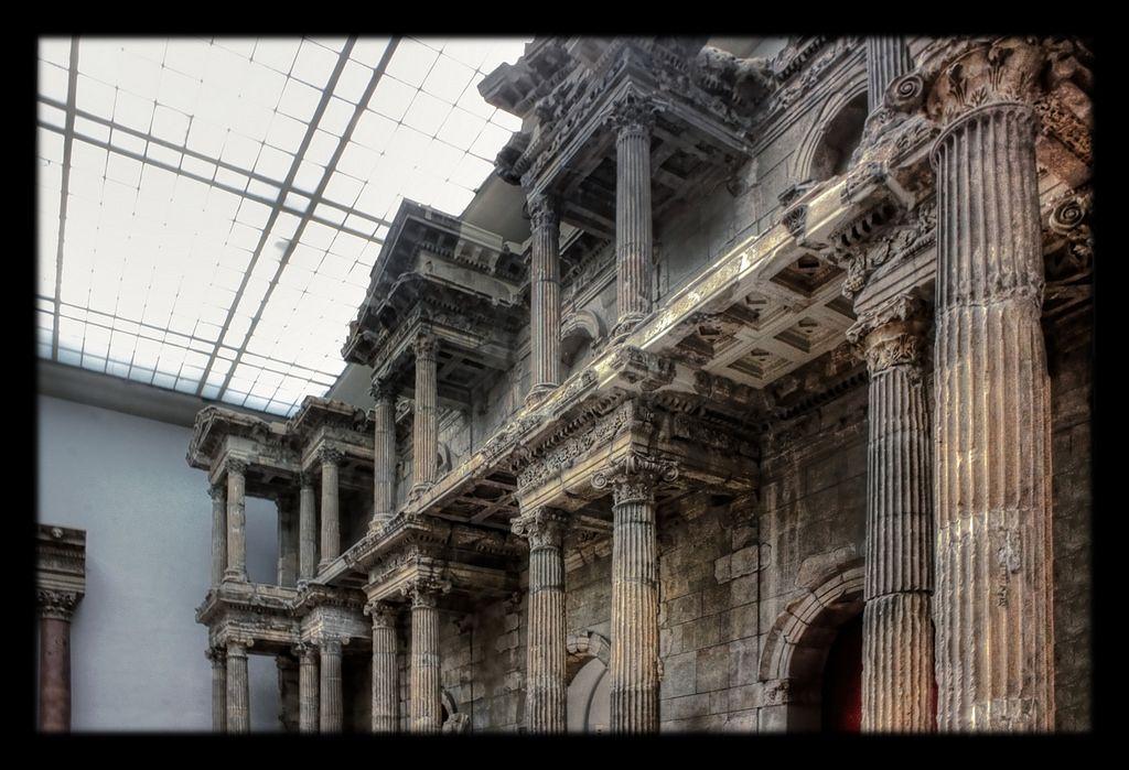 Berlin Pergamonmuseum Market Gate Of Miletus 04 Ancient Ruins Roman Architecture Ancient Cities