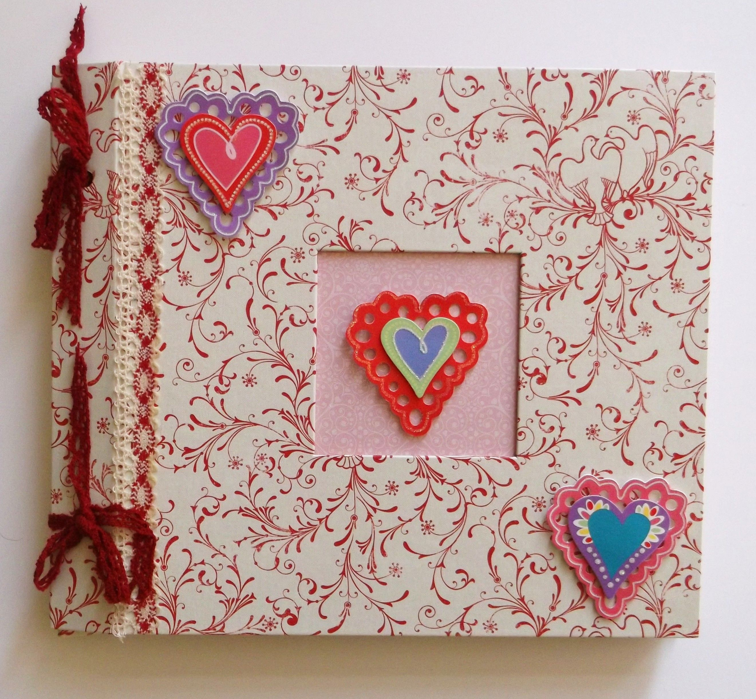Valentine Scrapbook Album Is Ready For Your Photos