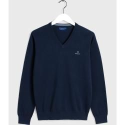 Photo of Gant V-Neck Sweater (Blau) GantGant