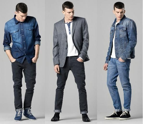 Style for men | Top to Bottom Denim Fashion Trends for Men ...