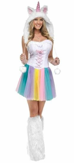 Unicorn Girl Costume - Halloween Pinterest Costumes - halloween girl costume ideas