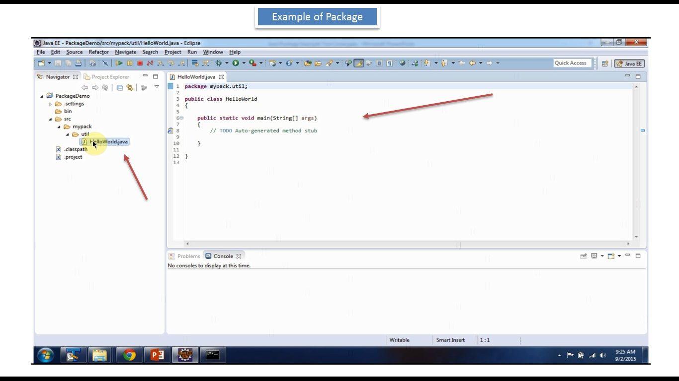 Java Tutorial Java Package Example (Two Level) Java