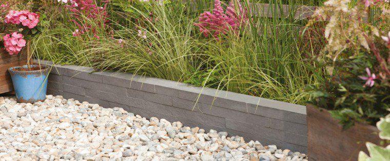 Idée bordure jardin  50 propositions pour votre extérieur - pave pour terrasse exterieur