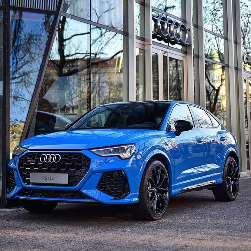 Is Turboblue The Right Blue For The New Audi Rsq3 Sportback 5 Cylinder 400hp Quattro Ozan Tky24 Oooo Audidrive In 2020 Audi Rsq3 Audi Audi Cars