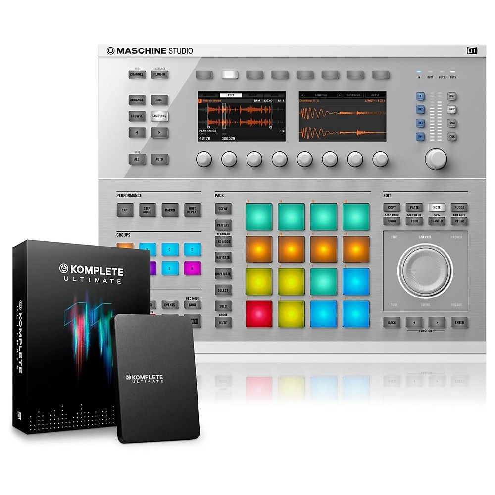 MASCHINE STUDIO with KOMPLETE 11 ULTIMATE | Products