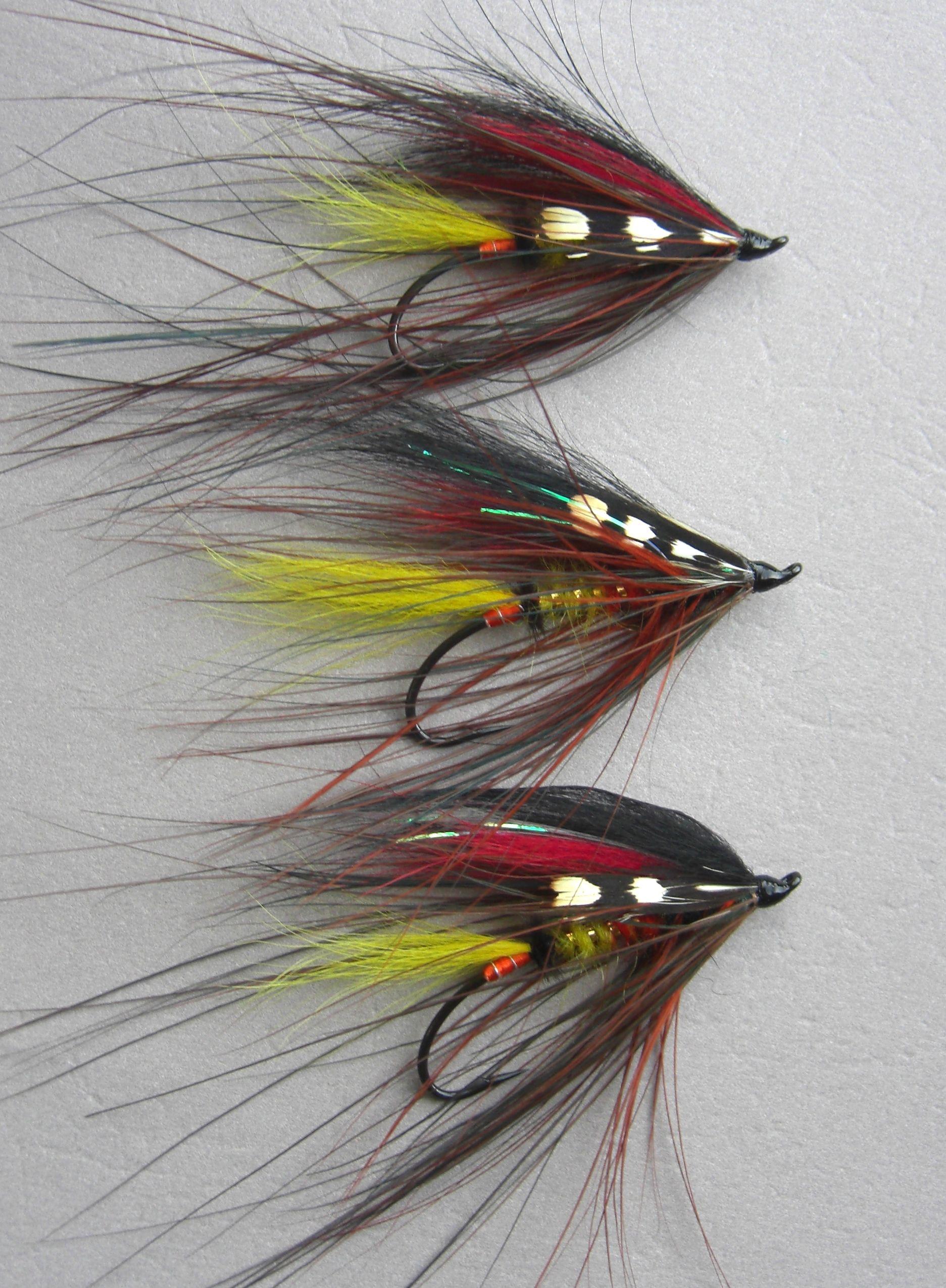 Durham Ranger #Spey flies | Fly fishing flies pattern ... Atlantic Salmon Fly Tying Patterns