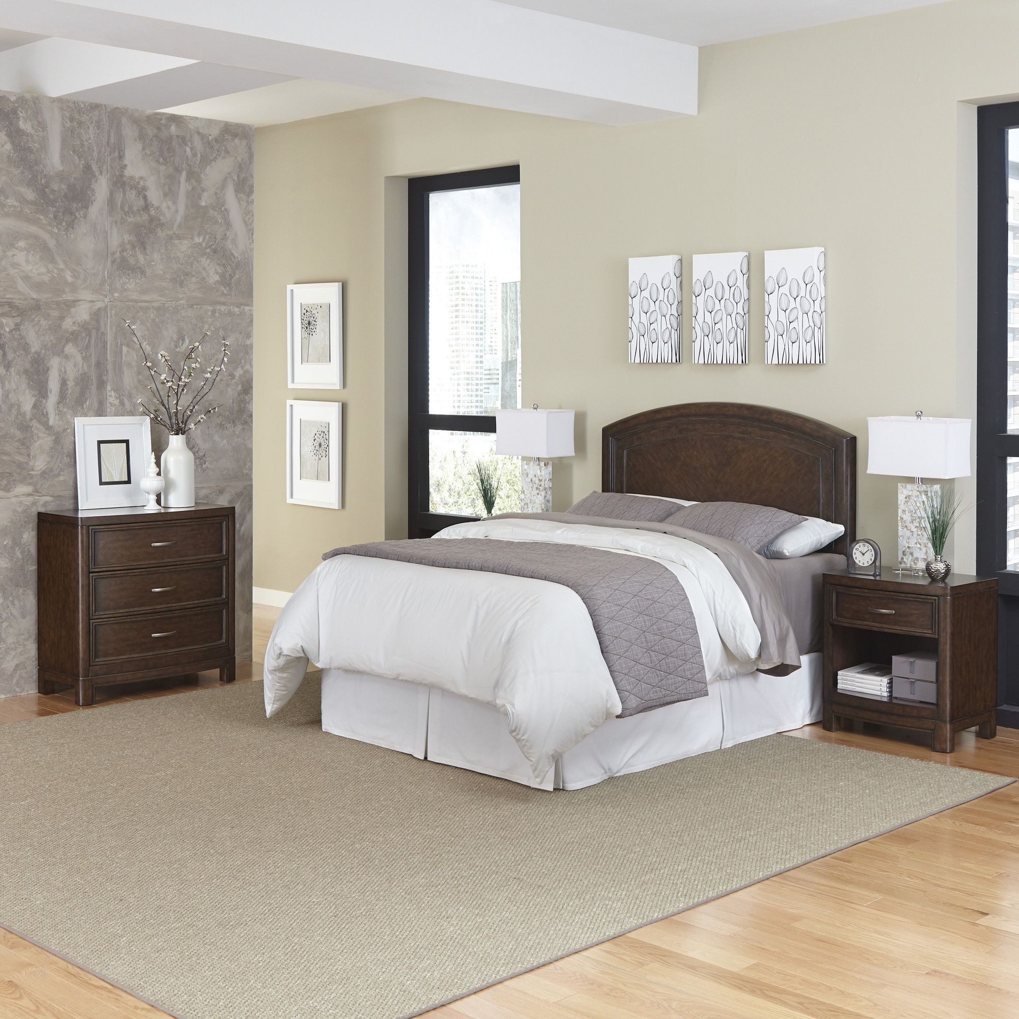 Best Crescent Hill Standard 3 Piece Dresser Set Bedroom Sets 400 x 300