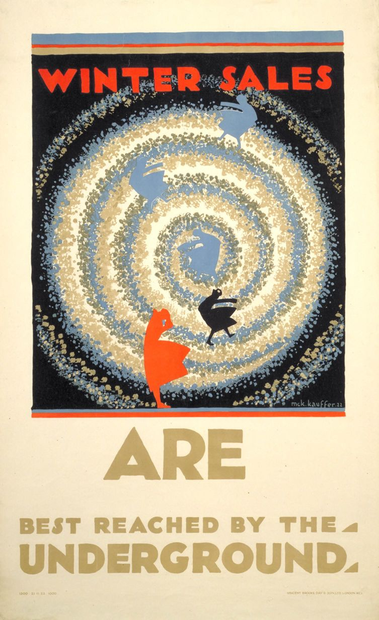 150 yrs of London Underground posters