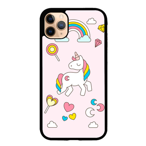 Cute Unicorn P0998 iPhone 11 Pro Max Case