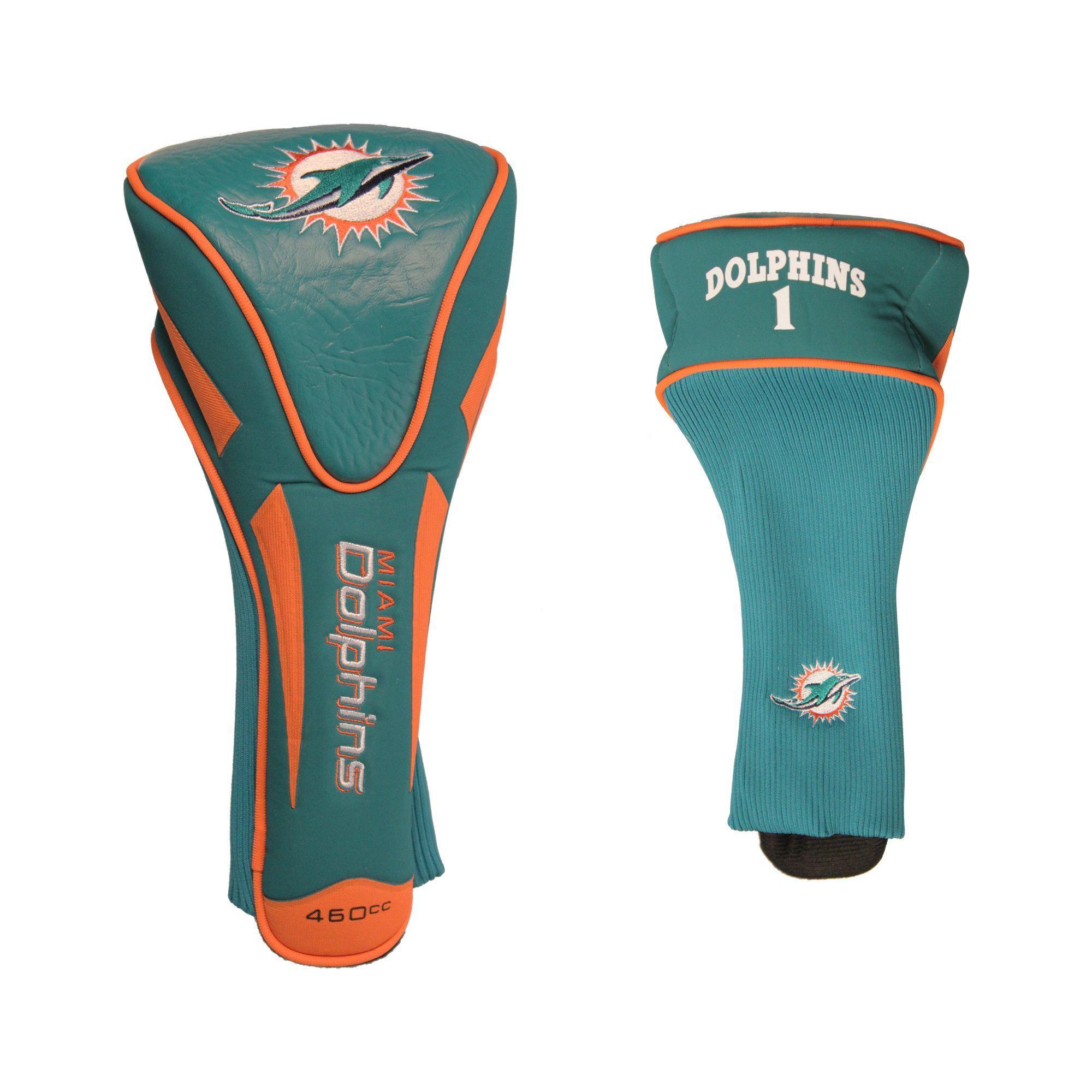 Miami Dolphins Single Apex Jumbo Golf Headcover