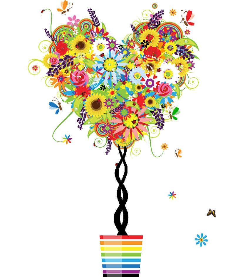 Flores Y Plantas Produccion Artistica Disenos De Arbol Pintura Del Arbol De La Vida