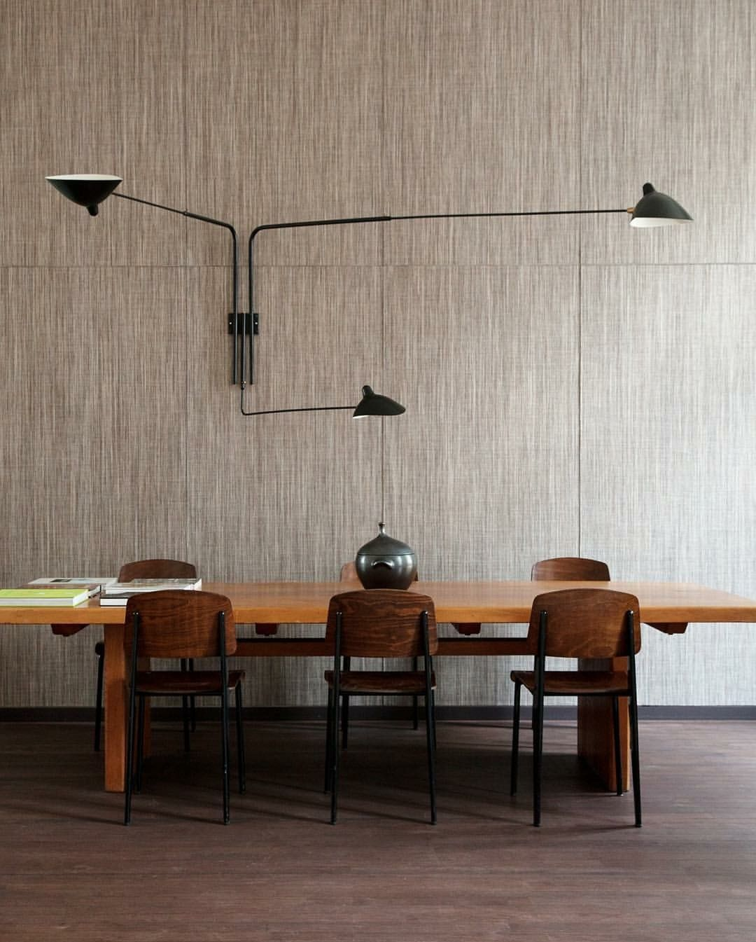 Home of emmanuel de bayser lamp by serge mouille