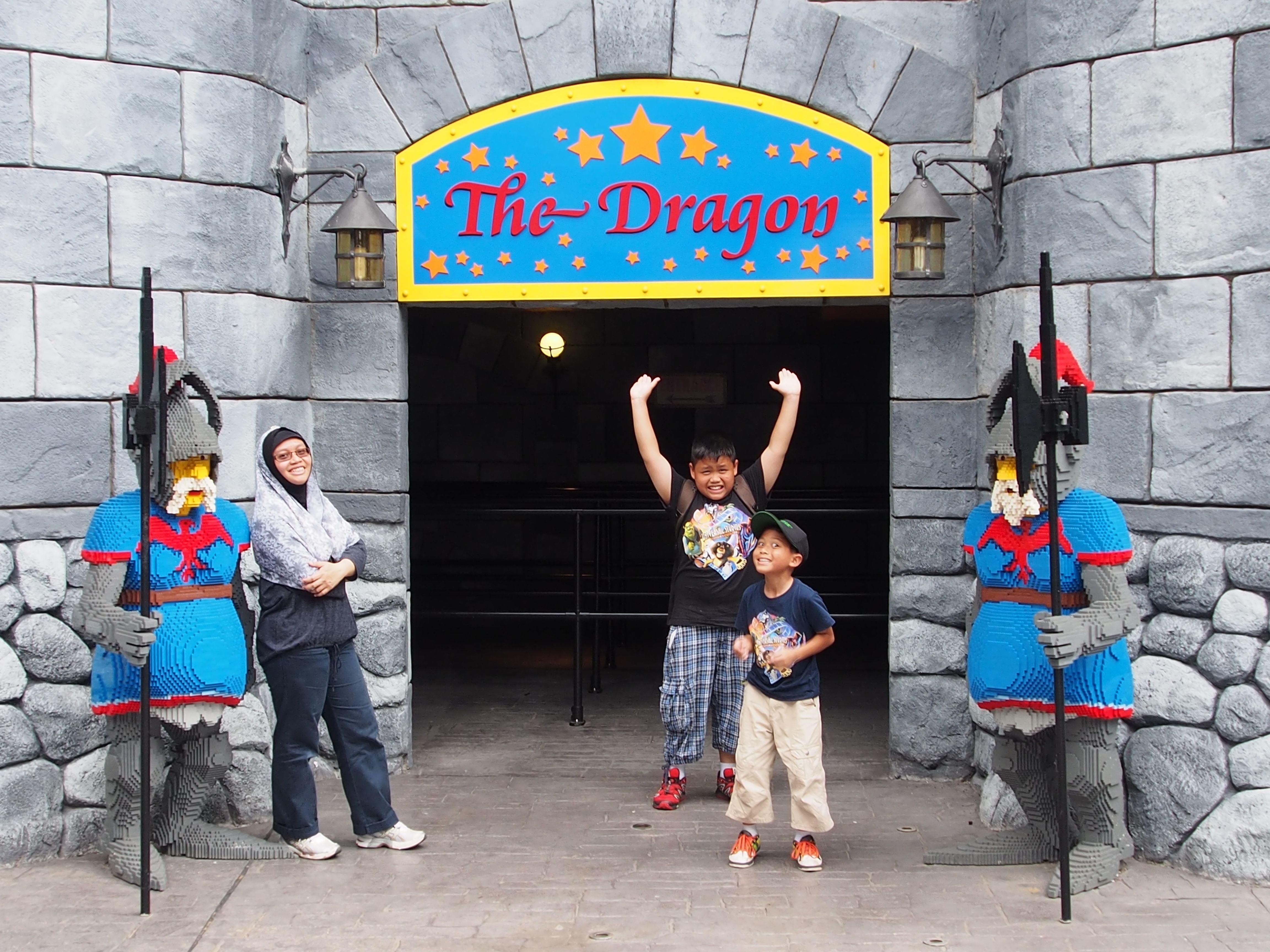 Largest ride for the kids | Legoland malaysia, Legoland ...