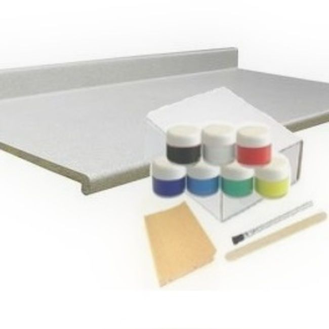 Pro Countertop Repair Kit For Repairing Damaged Countertops Match