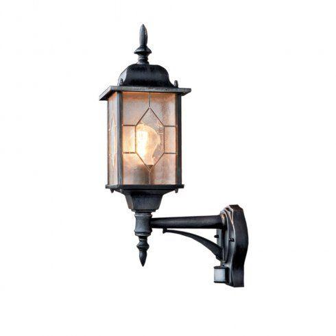 Konstsmide garden lighting konstsmide garden lighting milano wall up lamp pir black 7268 759
