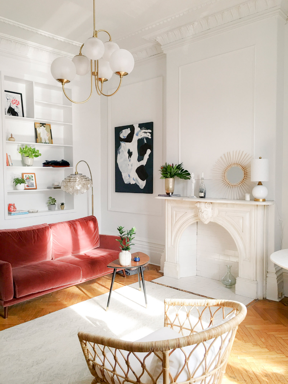 A Picture Perfect Parisian Style Studio In Montreal Front Main Cozy Living Room Design Rooms Home Decor Living Room Designs
