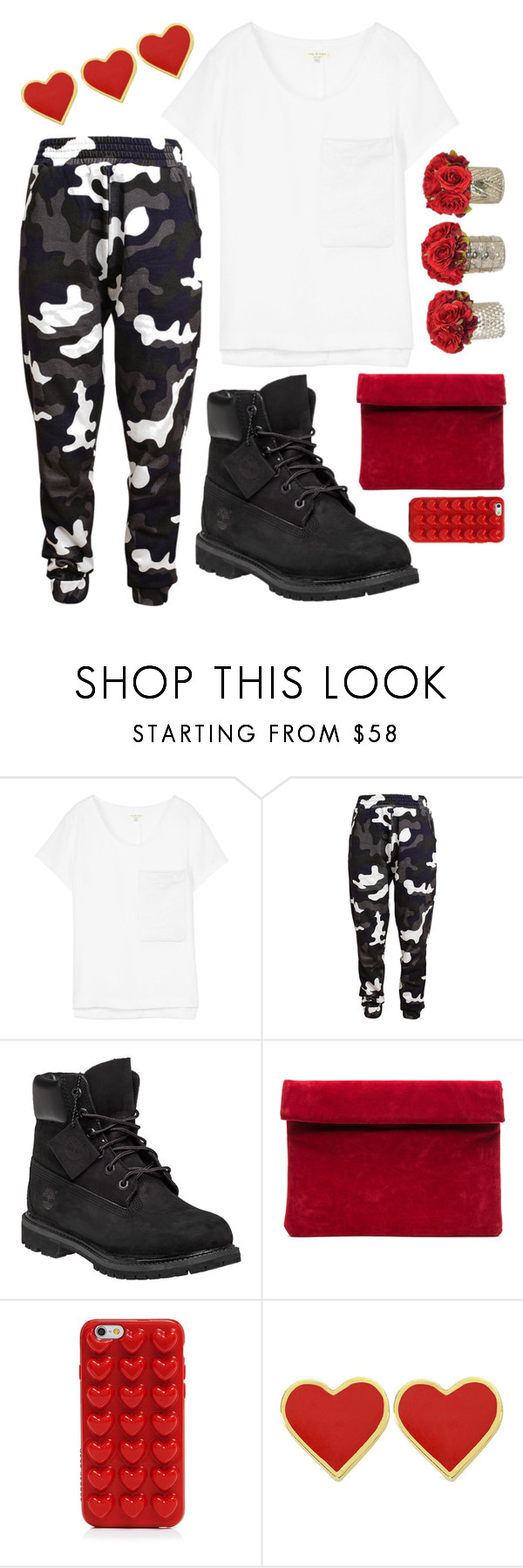 """""""Untitled #162"""" by mpxxi ❤ liked on Polyvore featuring rag & bone, Christopher Kane, Timberland and Marc Jacobs"""
