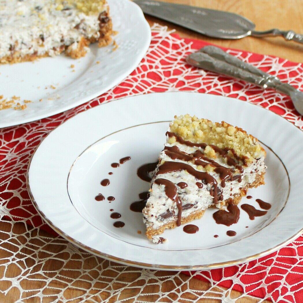 TORTA SBRICIOLATA FURBA ricetta crostata ricotta e cioccolato veloce