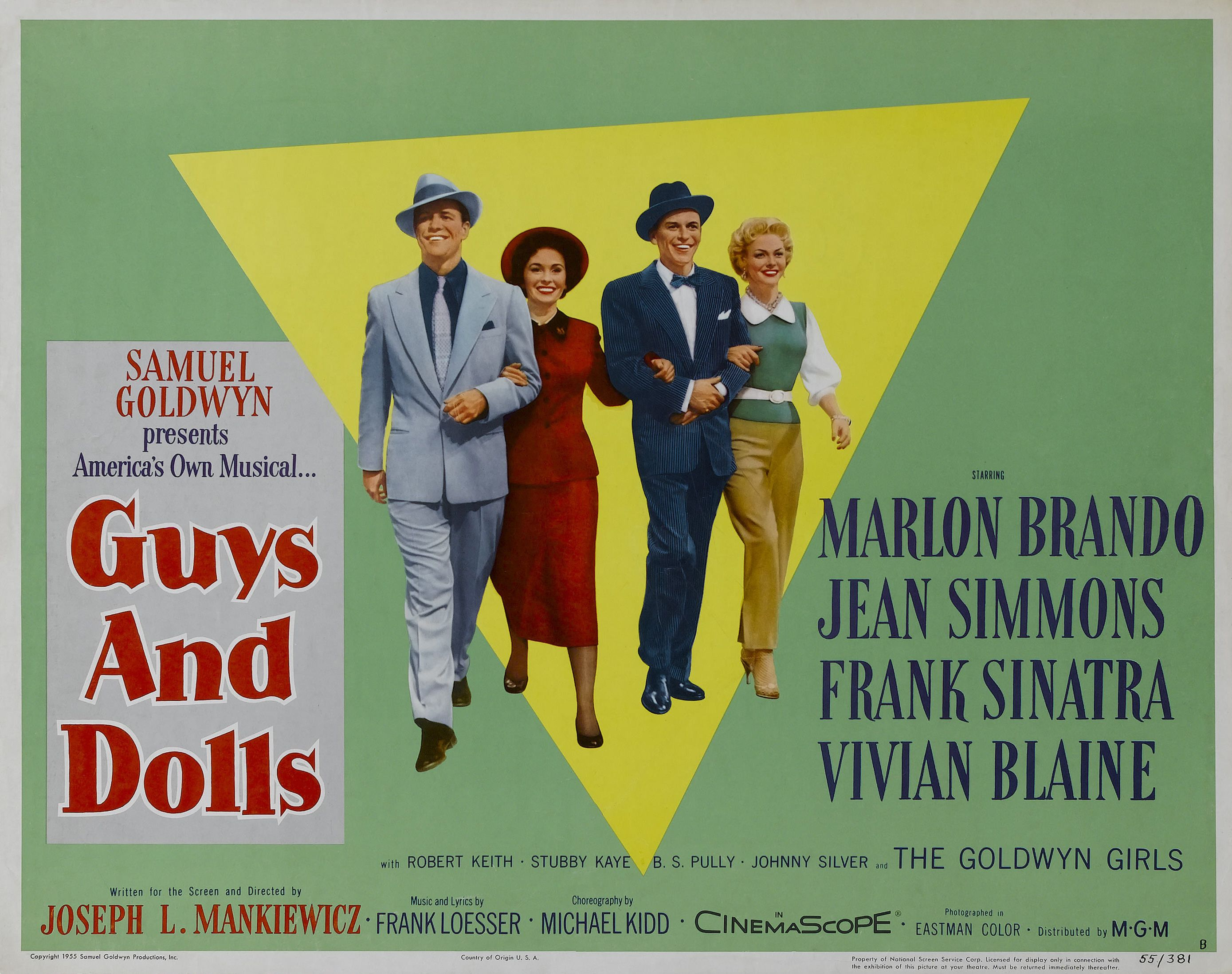 Guys and Dolls - great cast, great music | Guys and dolls, Marlon ...