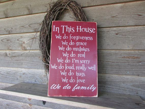 Country Decor Wood Signs Beauteous Primitive Country Decor Wood Sign Hand Painted Sign Distressed Design Decoration