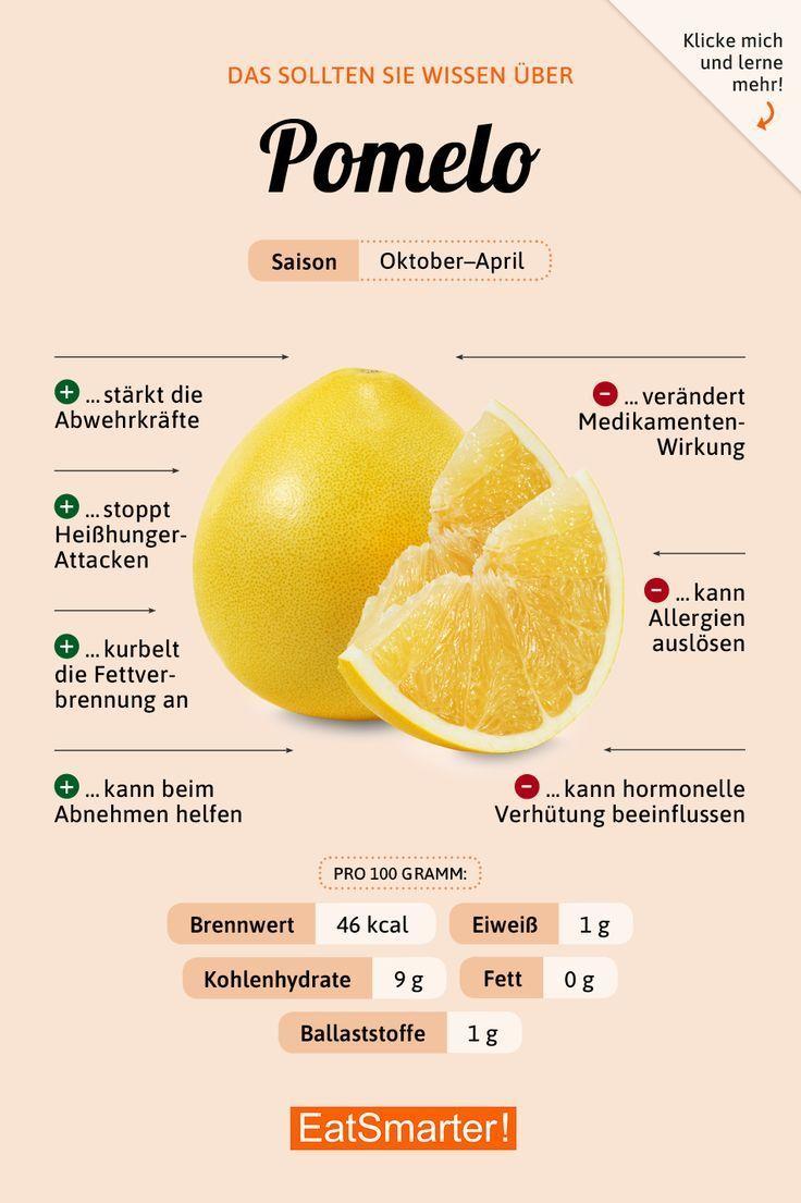 Pomelo Eat Smarter Isst Die Kutsche Gartenarbeit Eat Smart Nutrition Nutrition Recipes